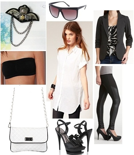 Karl Lagerfeld inspiration outfit