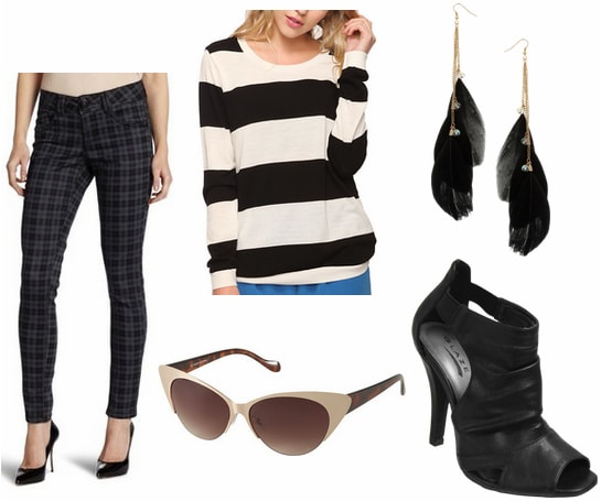 LAMB Fall 2012 RTW Inspired Outfit 2