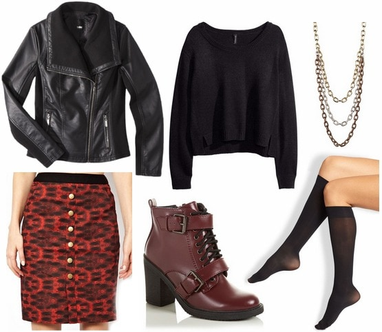 Lamb fall 2013 inspired outfit 3