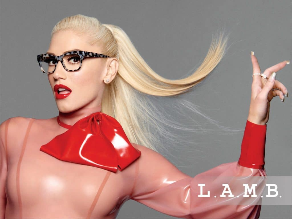 Gwen Stefani L.A.M.B. promotional image