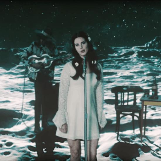 "Screenshot of Lana Del Rey's ""Love"" music video"