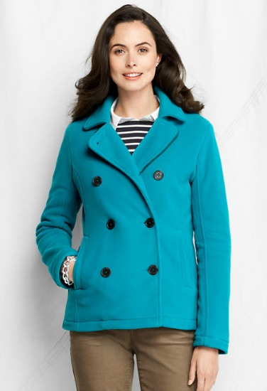 Land's End peacoat