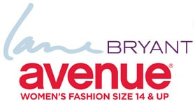 Lane bryant & Avenue logos