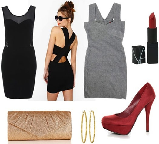 What to wear in Las Vegas: Outfit 4 - dresses and heels for a night out