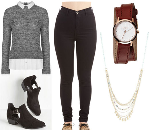 Outfit inspired by Laurel's style from How to Get Away with Murder