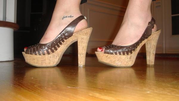 Lauren's amazing shoes