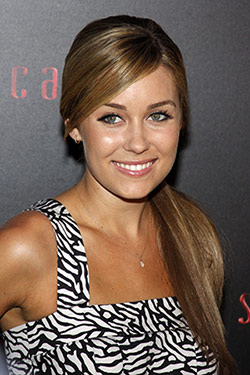 Lauren conrad side ponytail