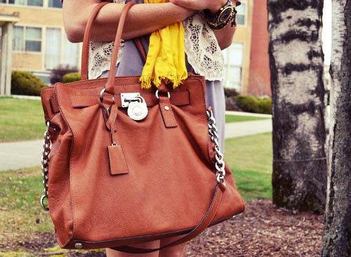College street style - bag