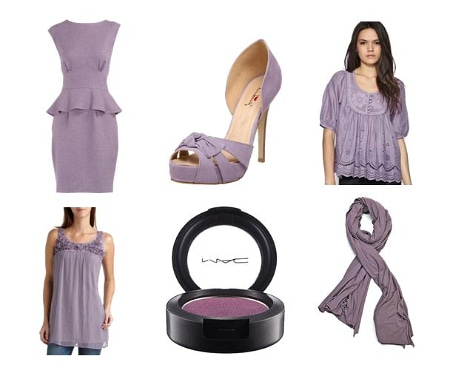 Lavender Clothing and Accessories