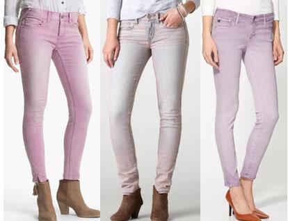 Lavender jeans