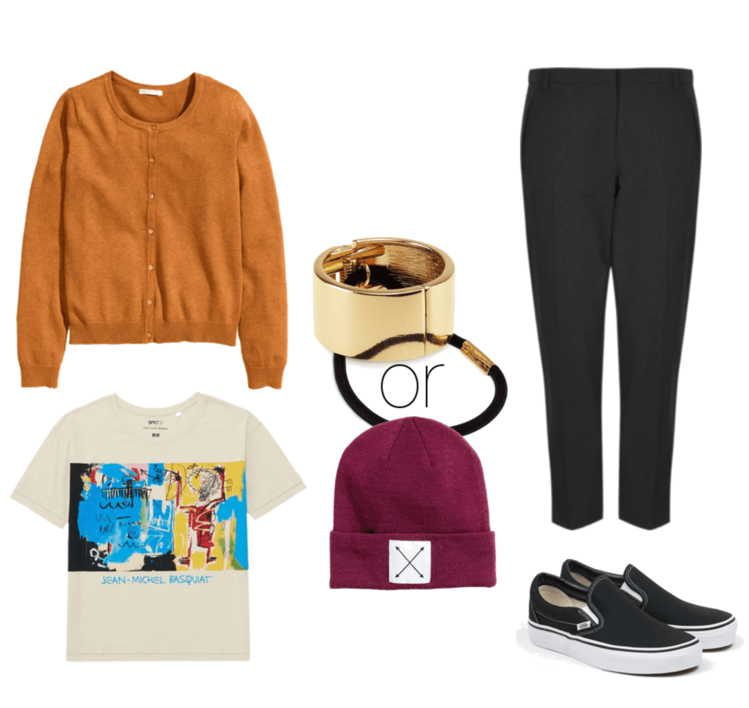 Lazy Monday with dressed down trousers