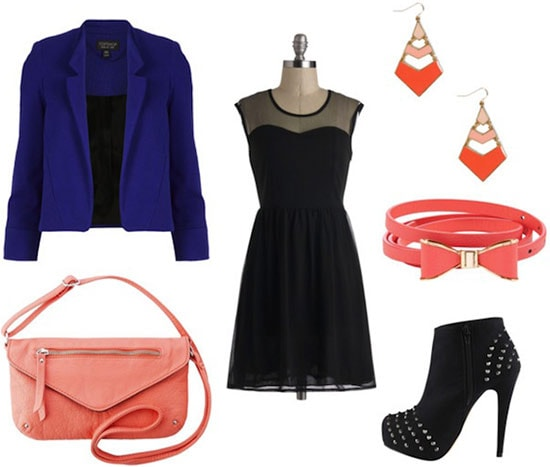 How to wear a LBD (little black dress) to a party