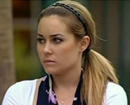 Lauren Conrad wearing a Straight Ponytail with a headband