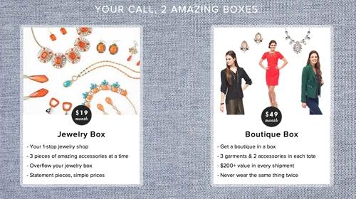 Le tote boxes description