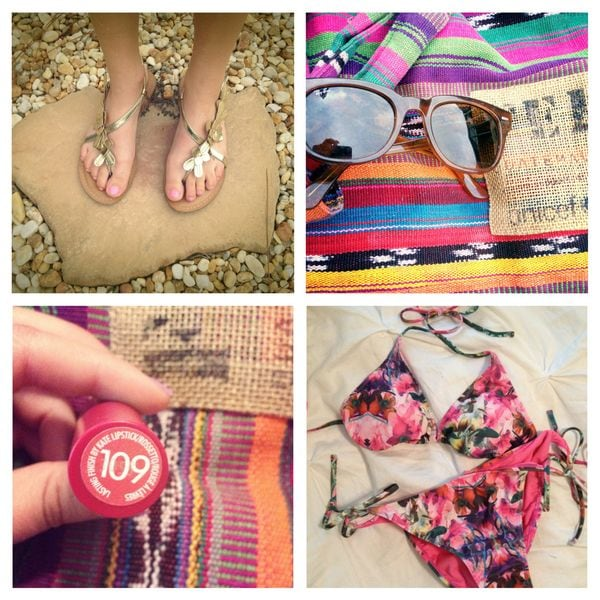 Leah's Beach Outfit Accessories