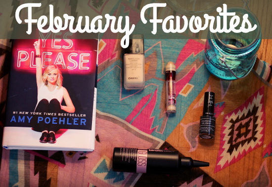 Leah's February-Favorites