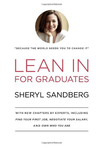 Lean in for graduates book cover