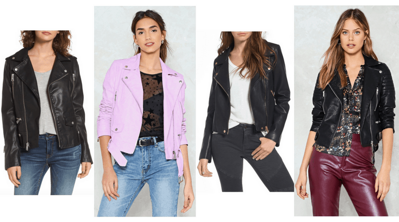 Edgy style basics: Leather moto jackets