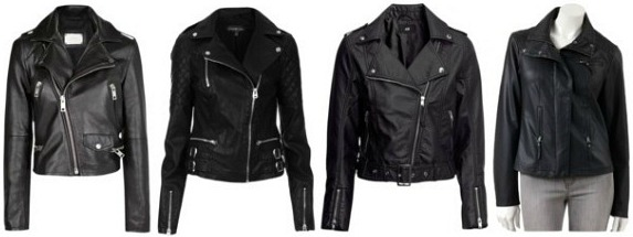 Leather jackets wardrobe staple