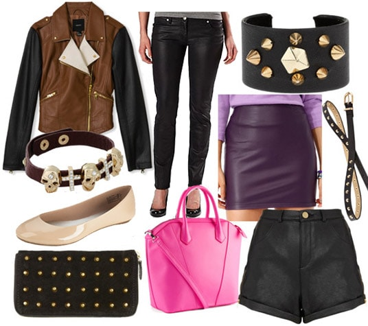 Leather pieces to update your wardrobe for 2013