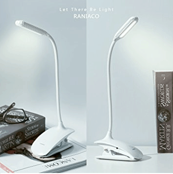 white rechargeable led  lamp