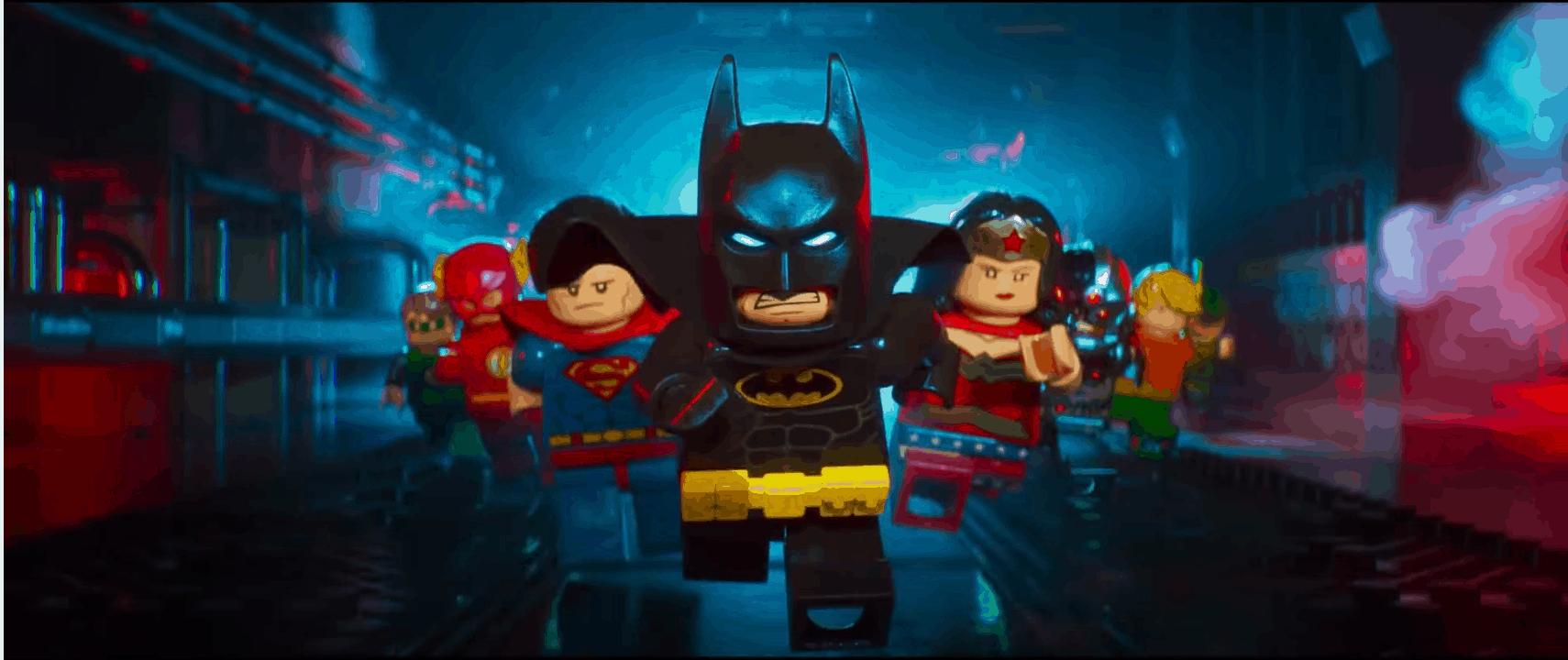 Screenshot of the Lego batman movie