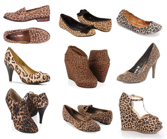 Leopard print shoes fall 2011