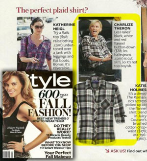 Les Halles in InStyle magazine