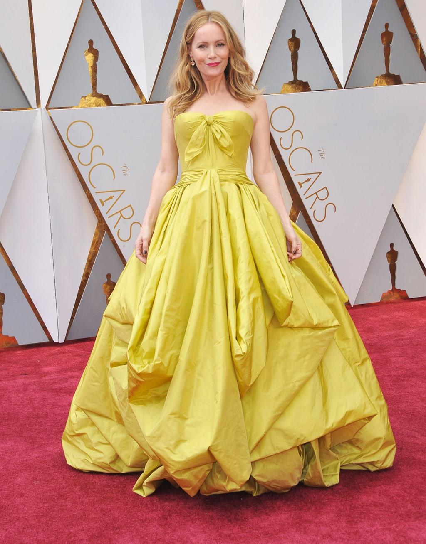 Leslie Mann in Zac Posen at the 2017 Oscars
