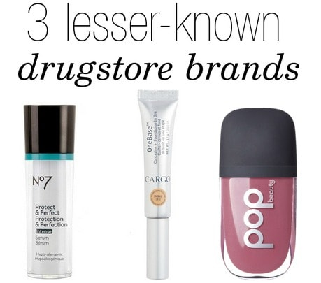 Lesser known drugstore beauty brands