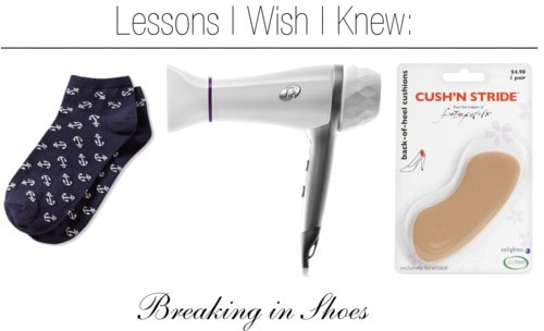Lessons i wish breaking shoes
