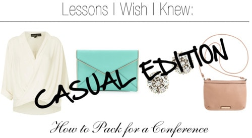 Lessons i wish casual conference