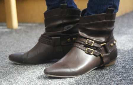 Fashion at Northern Arizona University - trendy boots