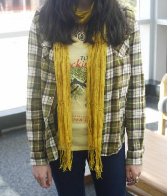 The layering fashion trend at Northern Arizona University
