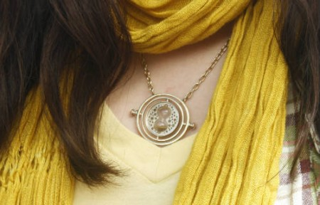 Harry Potter-style time turner necklace