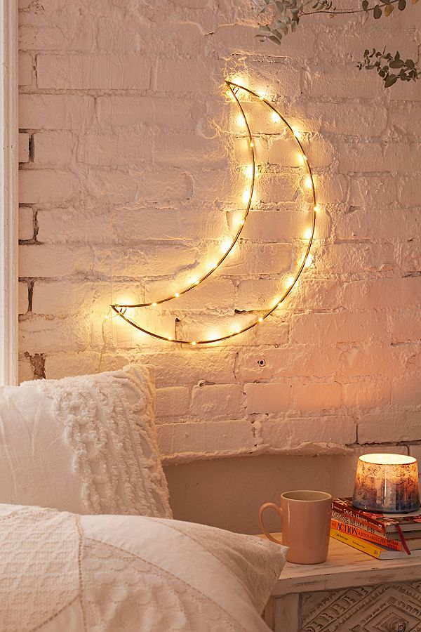 Geo moon light dorm decor