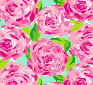 Lilly Pulitzer shorely blue first impression rose