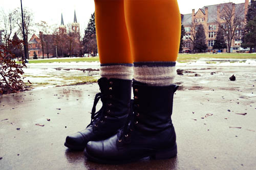 Cute boots, one of the latest fashion trends at Gonzaga University