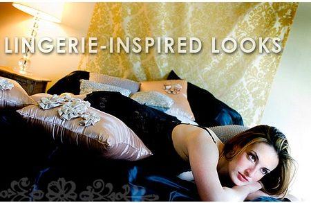 Lingerie inspired fashion