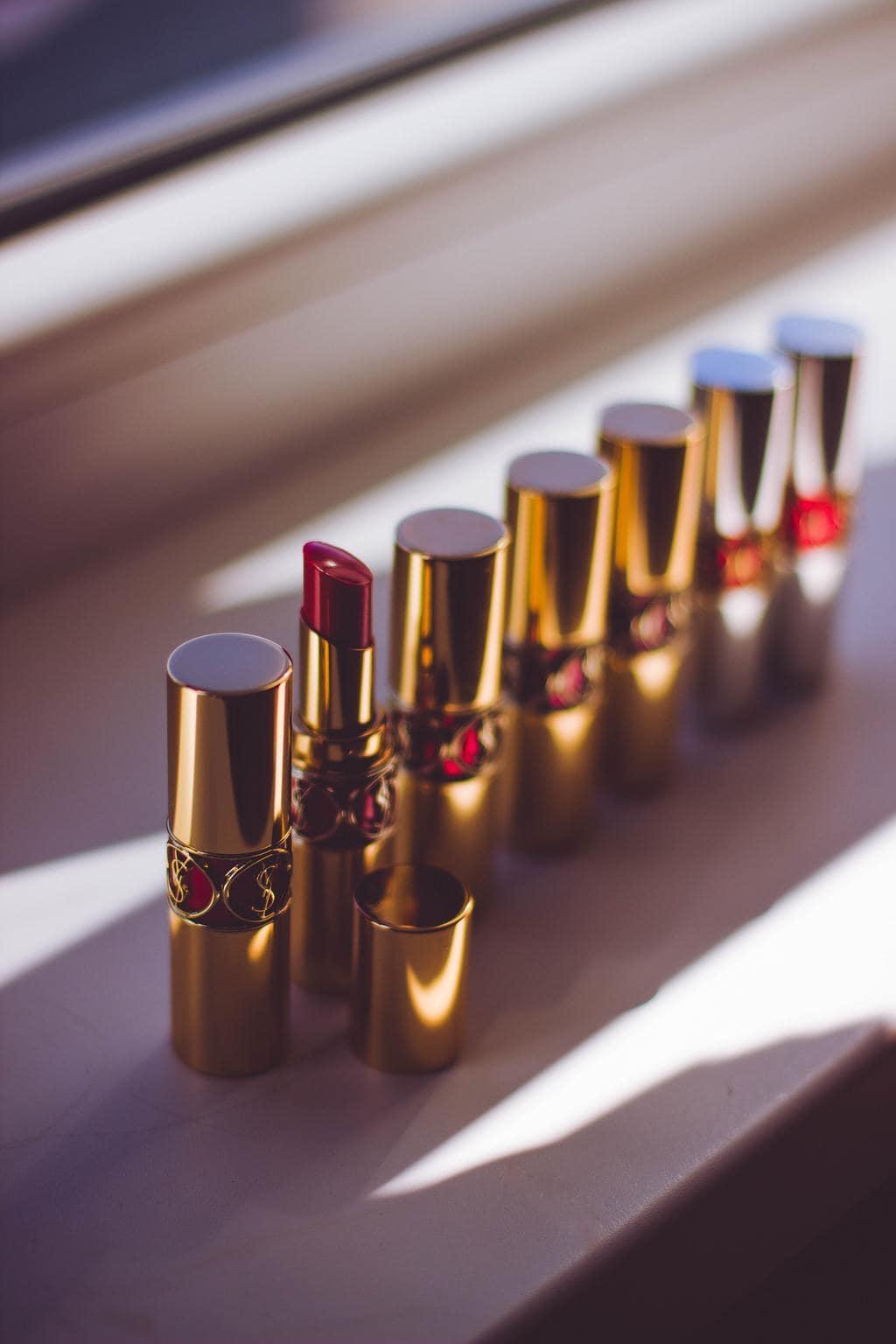 Lipsticks-ysl-red