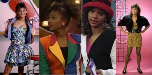 Lisa Turtle style - Saved by the Bell
