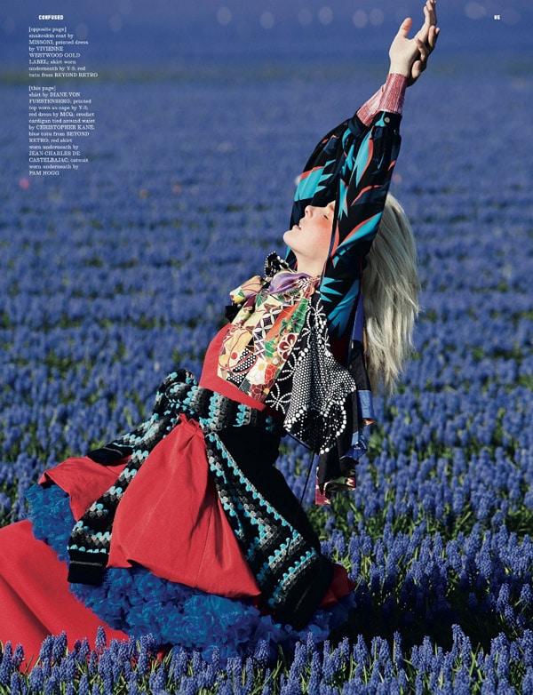 Lisanne de Jong by Viviane Sassen for Dazed & Confused July 2011