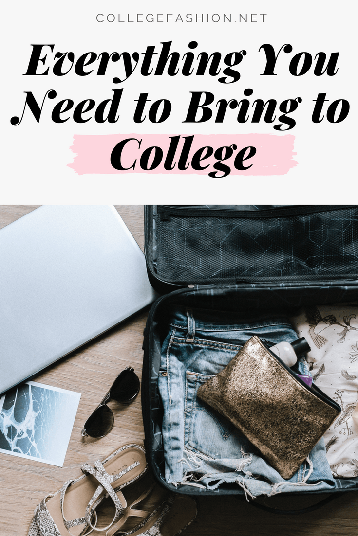 The ultimate college packing list