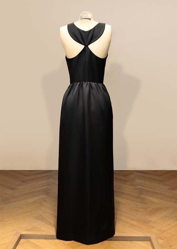 Givenchy black gown