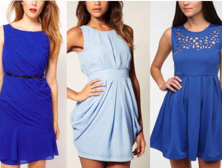 Little blue dresses