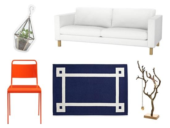 Jonathan Adler and Simon Doonan inspired living room