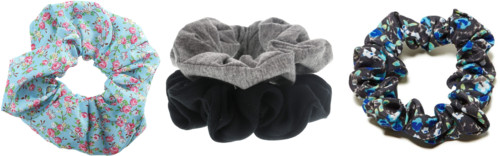 heatless curls scrunchies