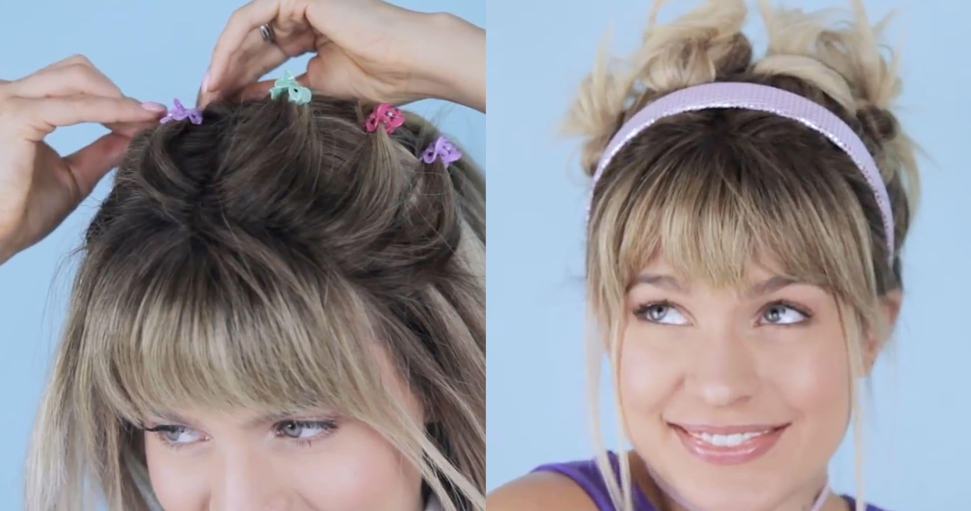 Lizzie McGuire halloween costume hairstyles