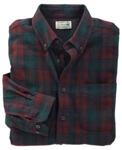LL Bean Flannel Shirt