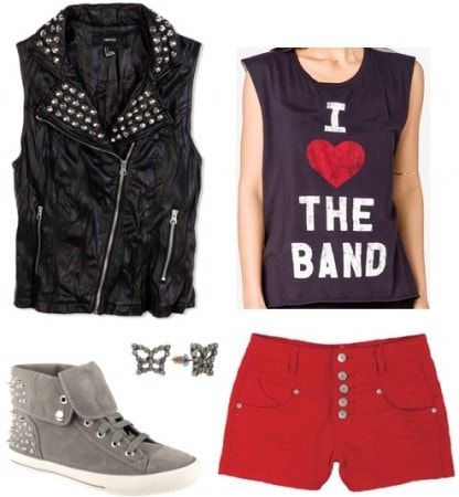 Little Mix fashion - Outfit 3
